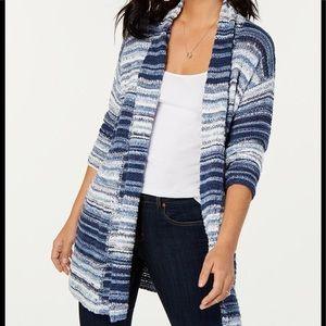 Style & Co long cardigan sweater
